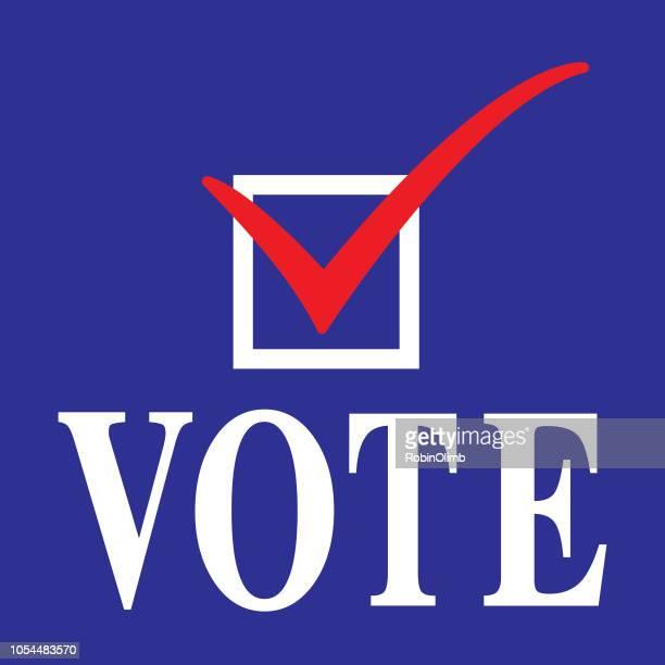 vote icon - voting stock illustrations
