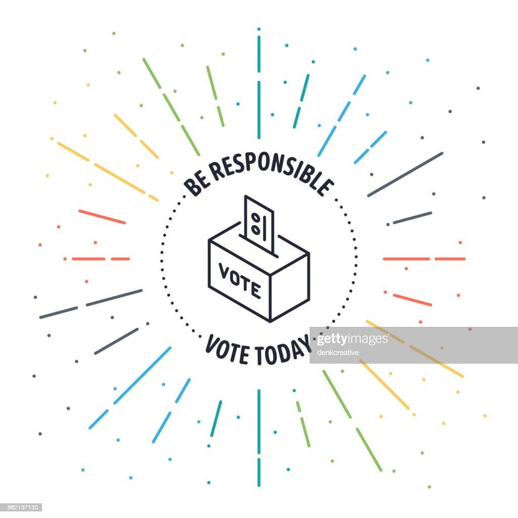 Voters Label Badge