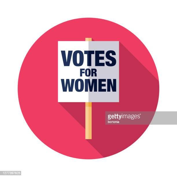 女性サフラジストサインアイコンに投票 - 1800~1809年点のイラスト素材/クリップアート素材/マンガ素材/アイコン素材