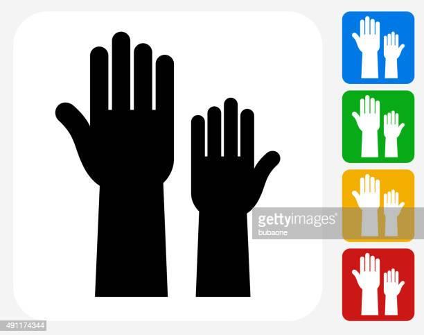 Voting Icon Flat Graphic Design
