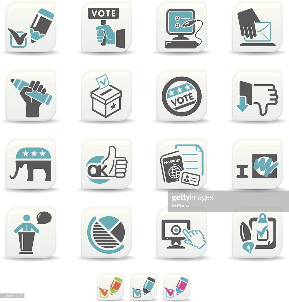 voting icons | simicoso collection