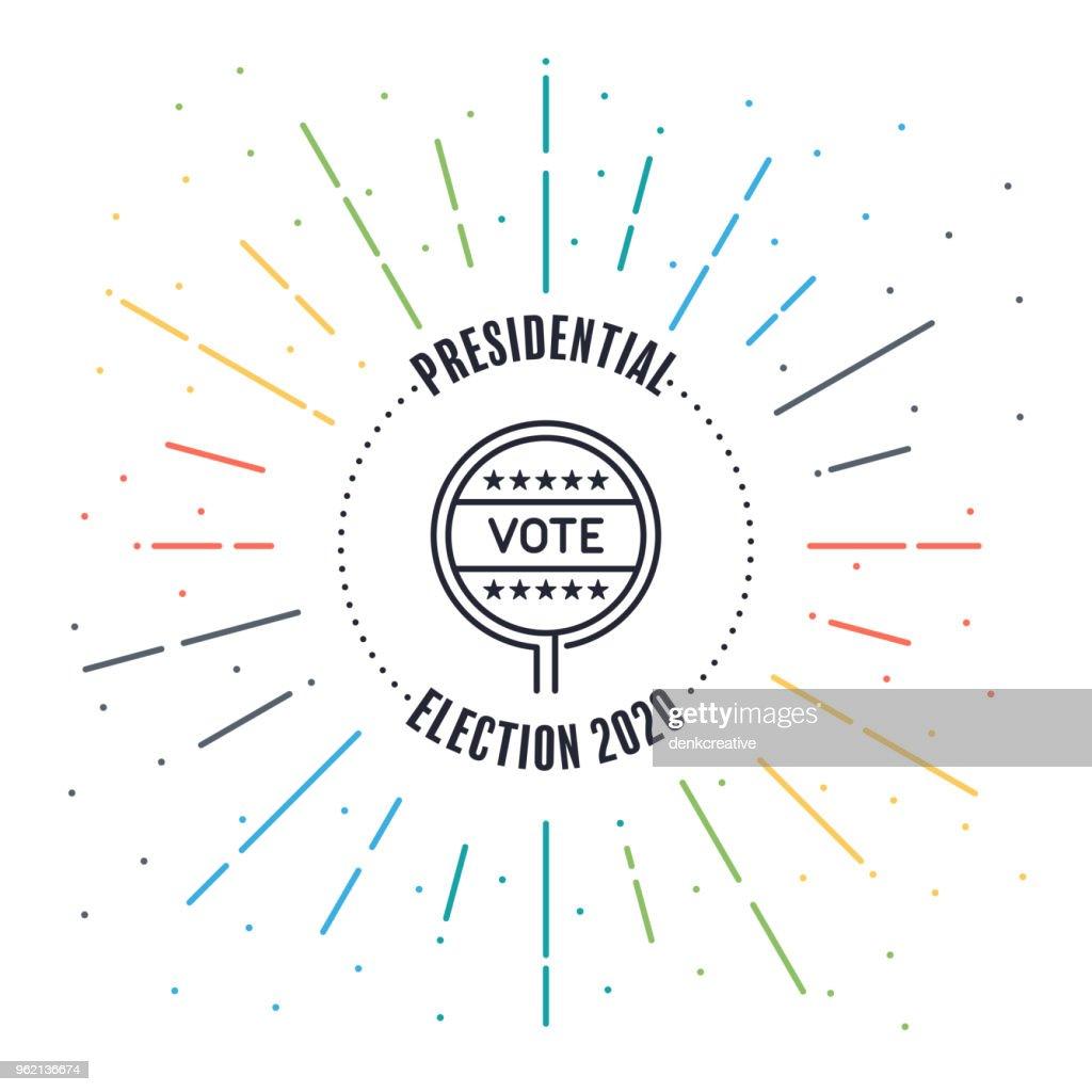 Voting Label Badge