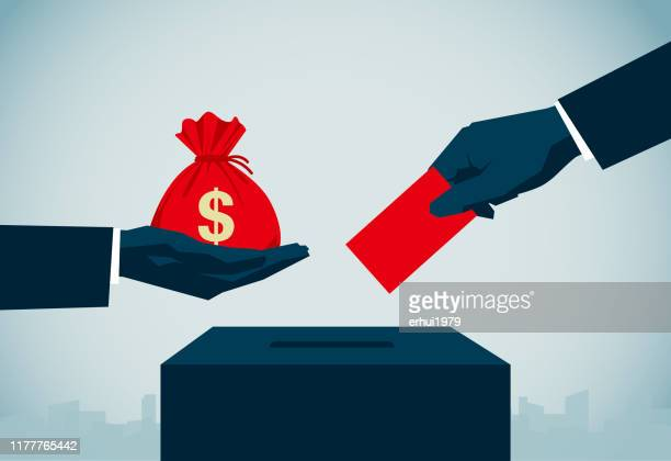 voting - politics abstract stock illustrations