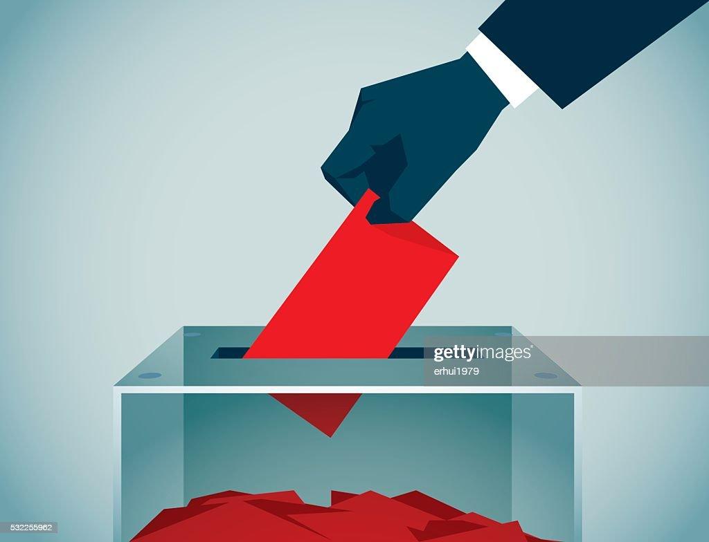 Voting : stock illustration