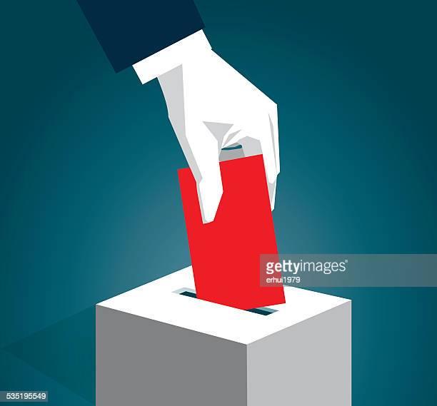 ilustraciones, imágenes clip art, dibujos animados e iconos de stock de de votar - 2015