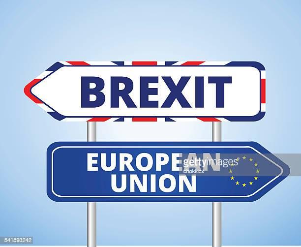illustrations, cliparts, dessins animés et icônes de brexit vs ue - brexit