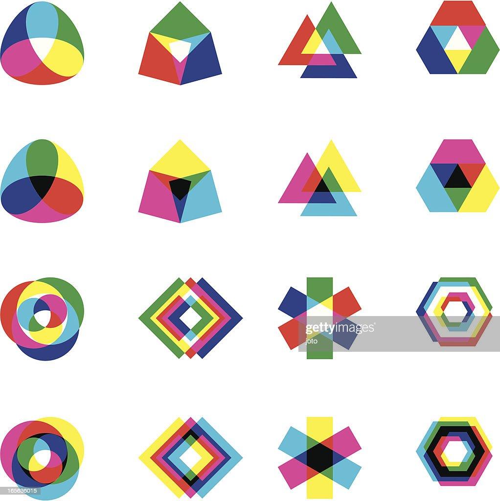 CYMK vs RGB shapes