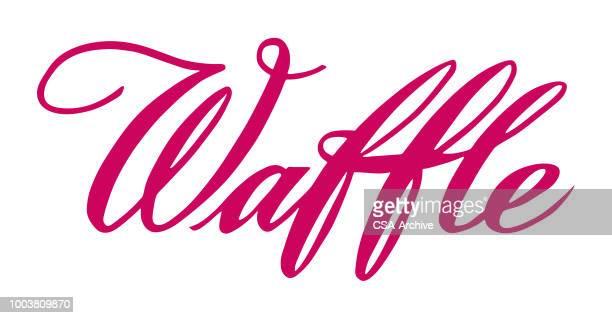 waffle - waffle stock illustrations, clip art, cartoons, & icons
