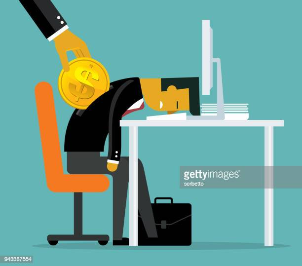 wages to employees - paycheck stock illustrations, clip art, cartoons, & icons