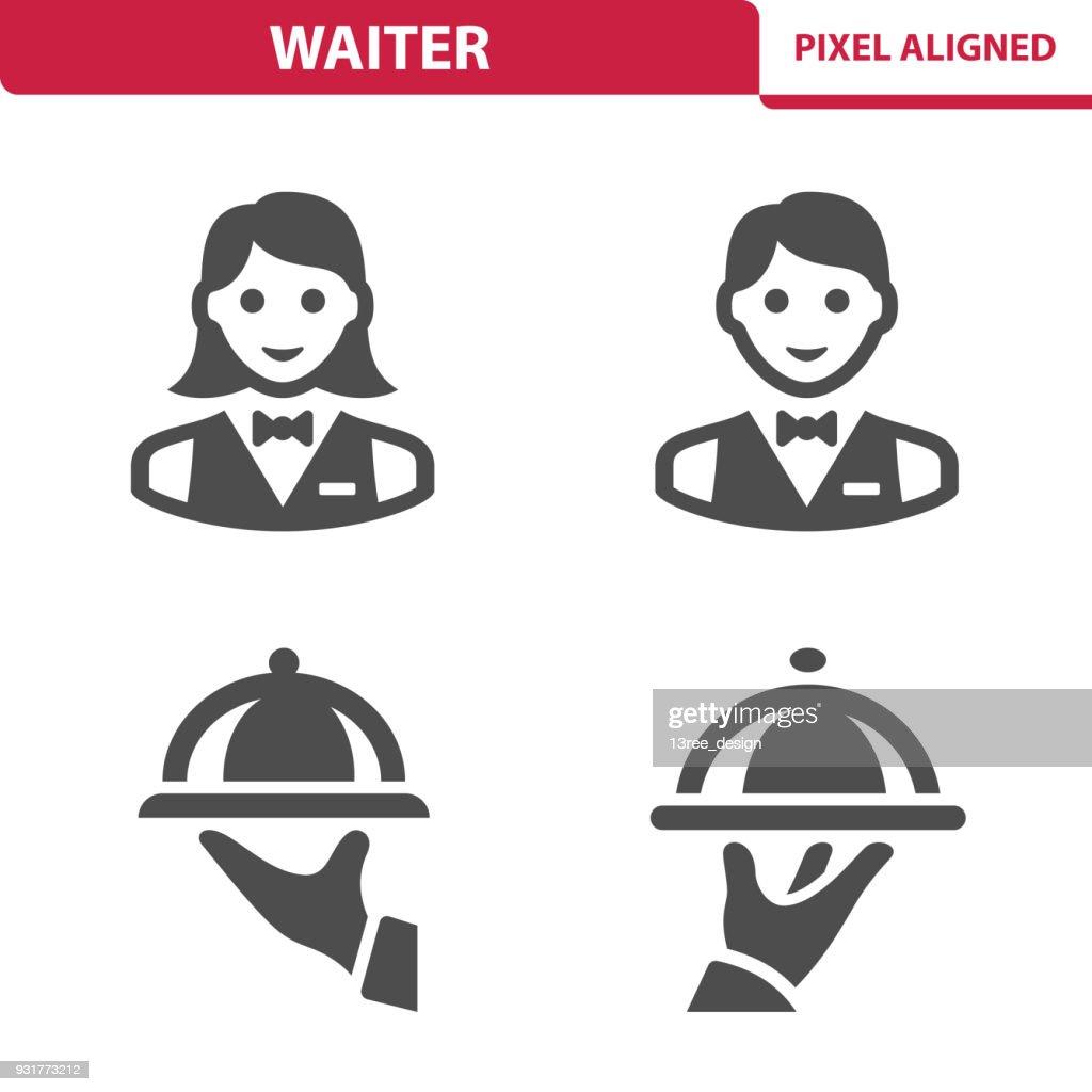 Waiter Icons