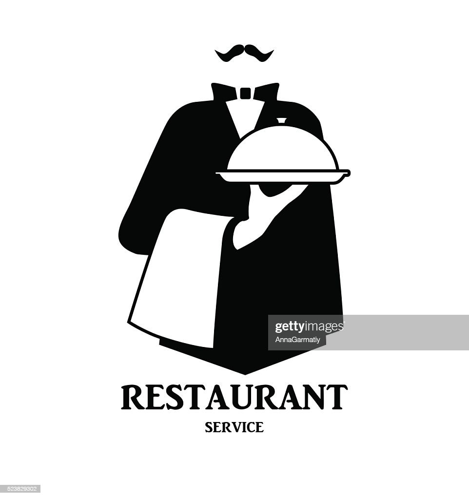Waiter logo design