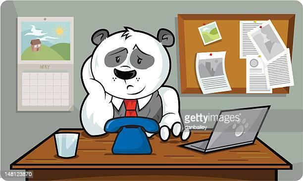illustrations, cliparts, dessins animés et icônes de attente pour un appel - impatient