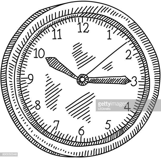 Dibujos De Un Reloj