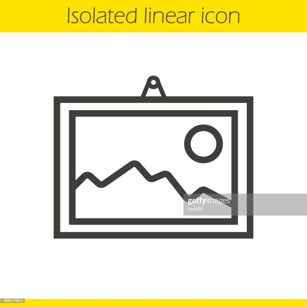 Wall painting icon