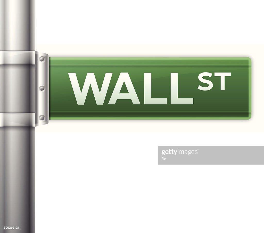 Wall Street : stock illustration