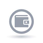 Wallet icon - Purse symbol