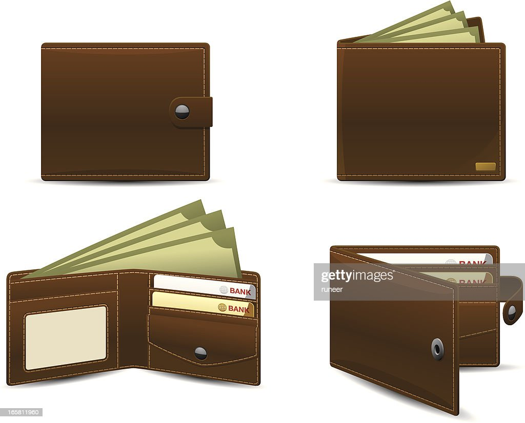 Wallet icons | Classic series