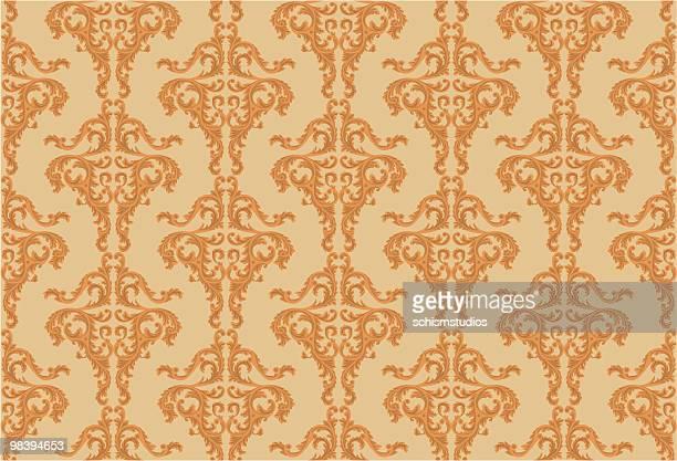 tapete-barock-palast - tapete stock-grafiken, -clipart, -cartoons und -symbole