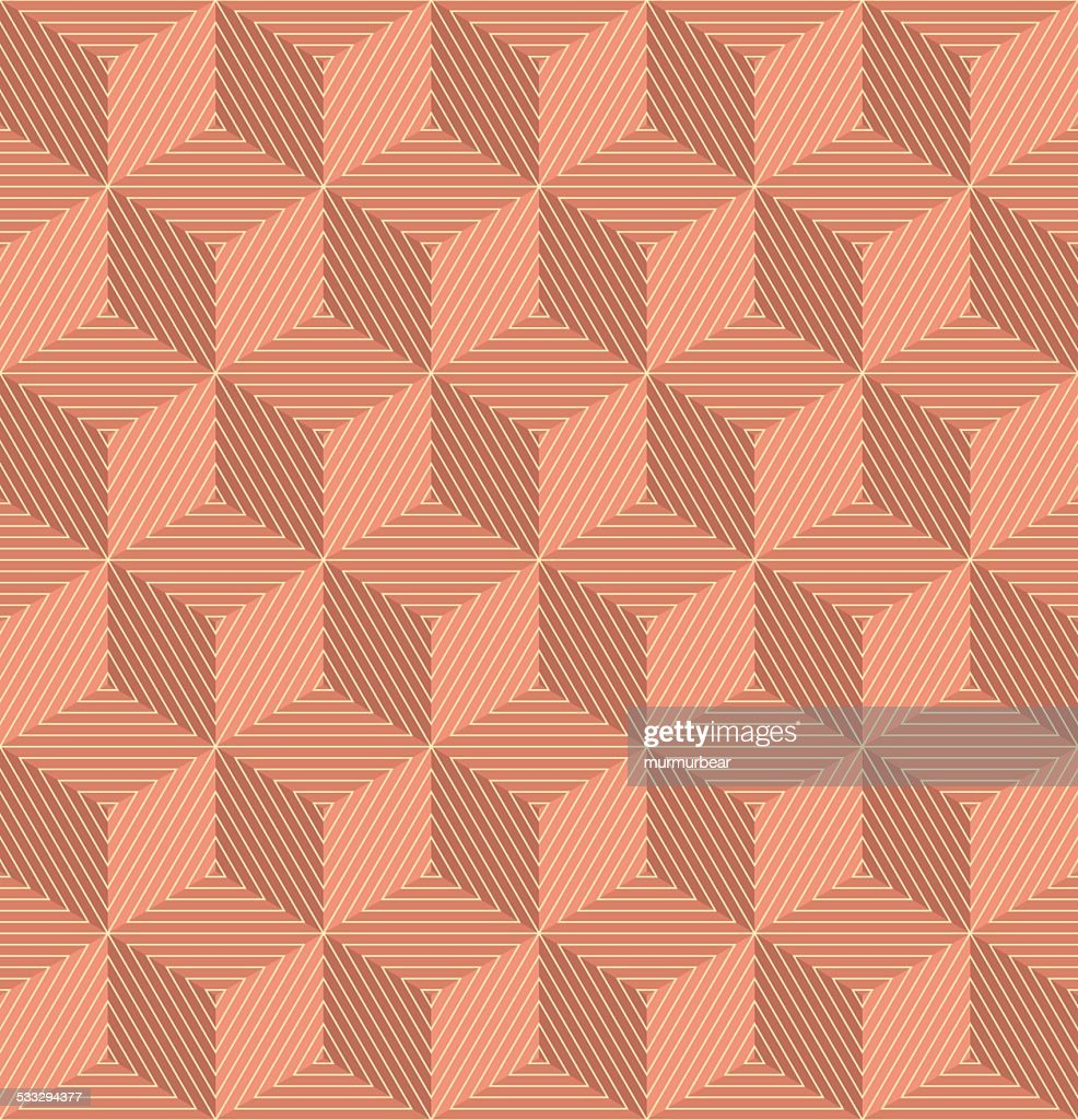 wallpaper pattern of copper colored cubes