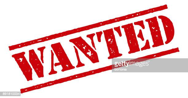wanted red rubber stamp icon on transparent background - desire stock illustrations