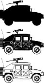 war humvee military icons