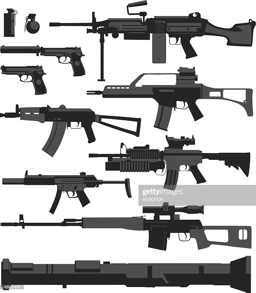 War Weapons : stock illustration