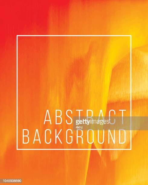 warme orange abstrakte lava digitalen glitch grunge hintergrund - lava stock-grafiken, -clipart, -cartoons und -symbole