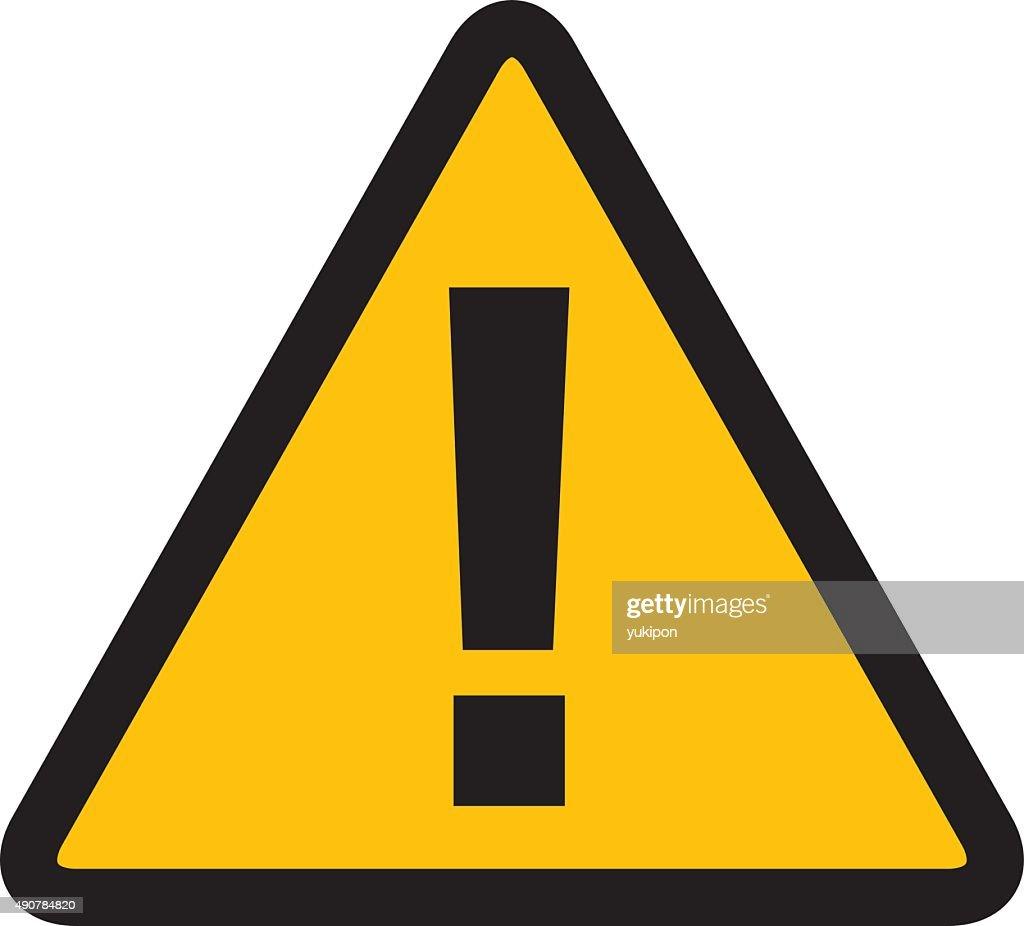 warning alert sign Vector
