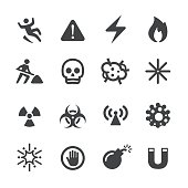 Warning and Hazard Icons - Acme Series