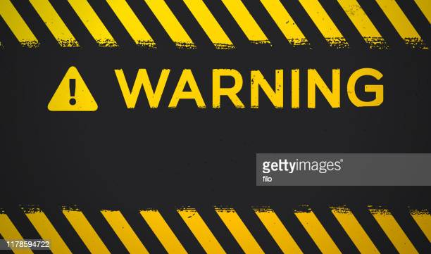 warning background - warning symbol stock illustrations