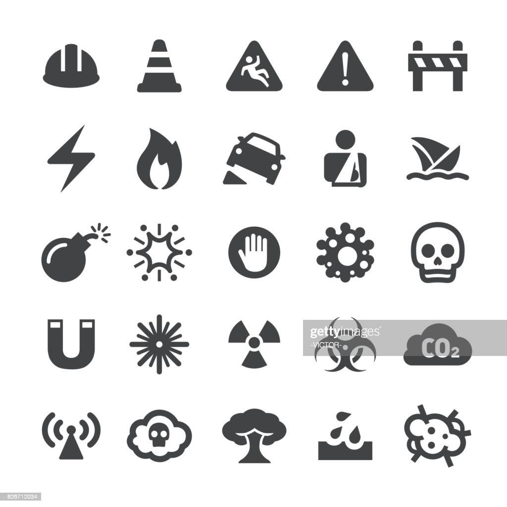 Warning Icons - Smart Series : stock illustration