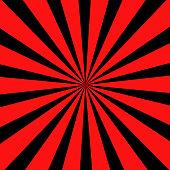 Warning Ray red stripe