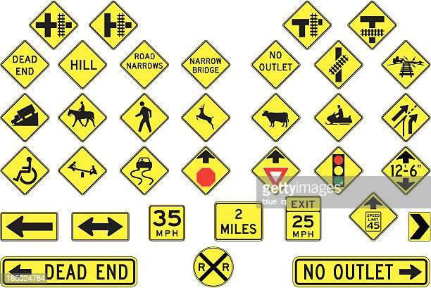 警告標識、ベクトル形式 - マイル点のイラスト素材/クリップアート素材/マンガ素材/アイコン素材