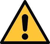 Warning sign, DANGER