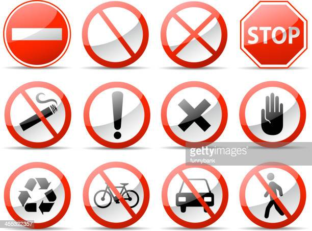 warning symbols - quitting smoking stock illustrations, clip art, cartoons, & icons