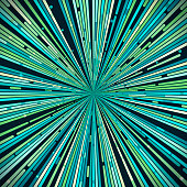 Warping Abstract Background