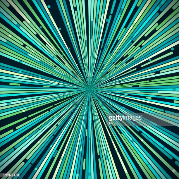 warping abstract background - zoom in stock illustrations