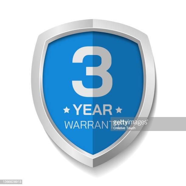 warranty label - shielding stock illustrations