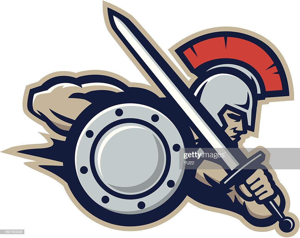Warrior mascot