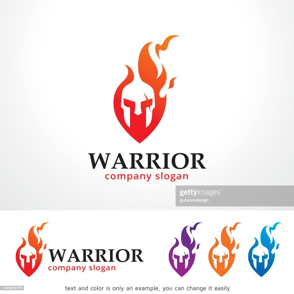 Warrior Symbol Template Design Vector, Emblem, Design Concept, Creative Symbol, Icon