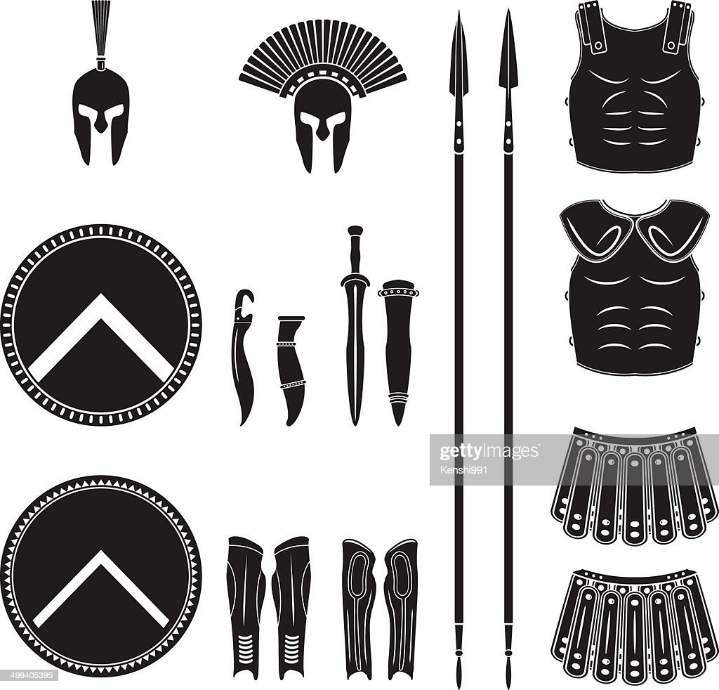 Warriors series - Spartan equipment