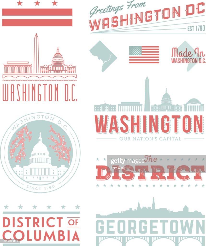 Washington D.C. Typography