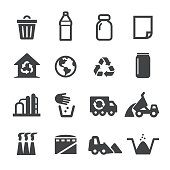 Waste Management Icons - Acme Series