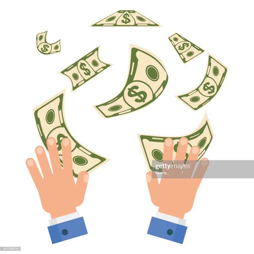Waste of money concept