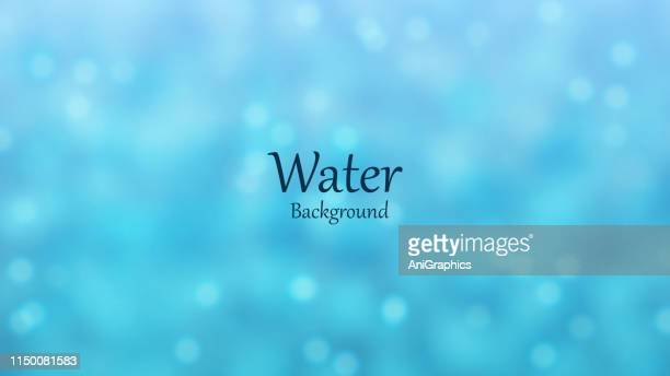 water bubble background - water stock illustrations