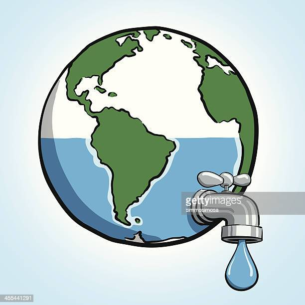 water conservation - water conservation stock illustrations