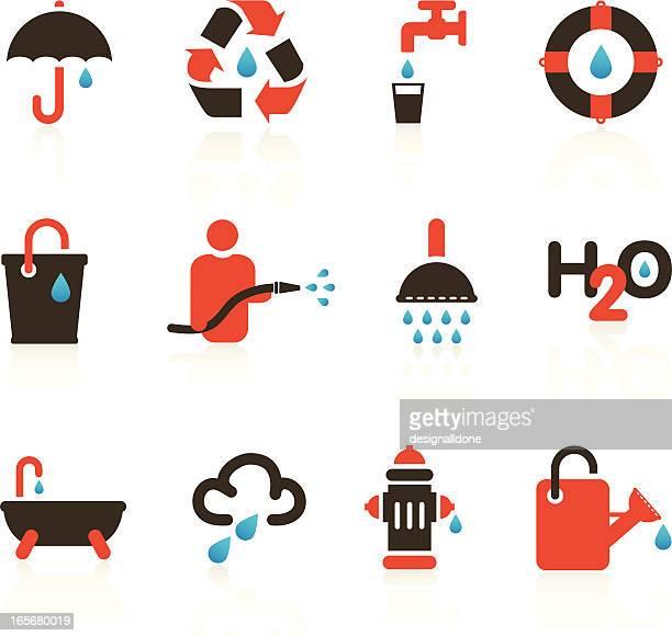 Wasser Tropfen Symbole