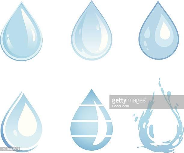 water drop - drop stock illustrations
