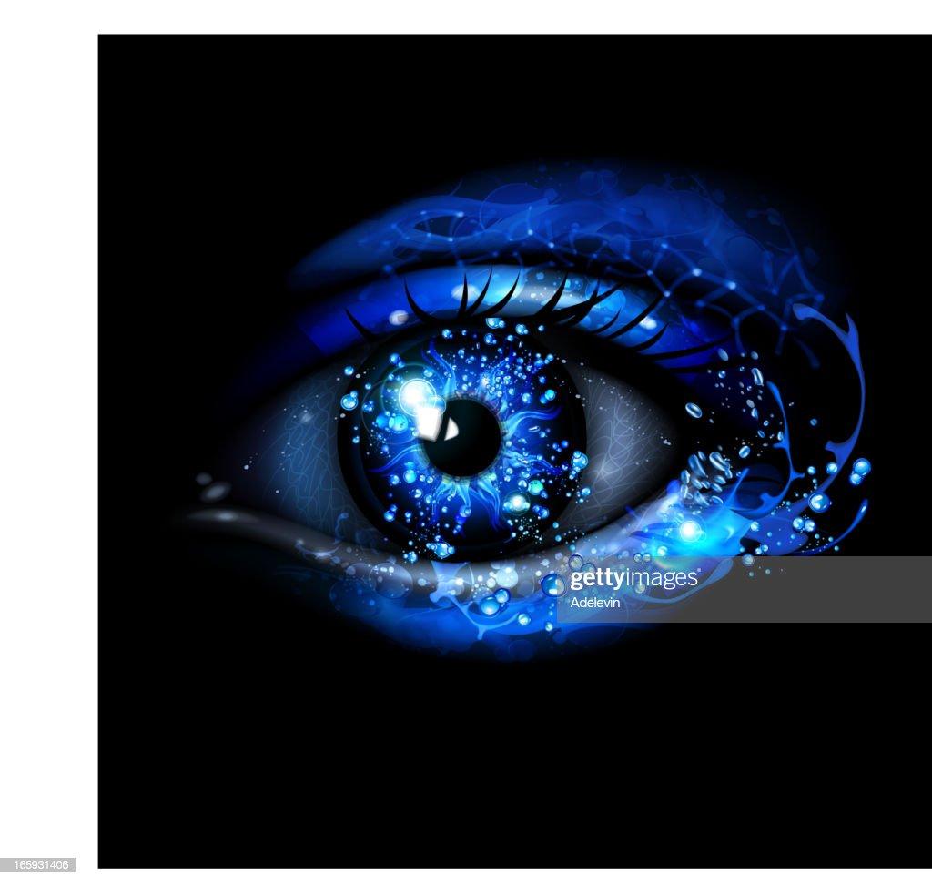 Water Eye : stock illustration
