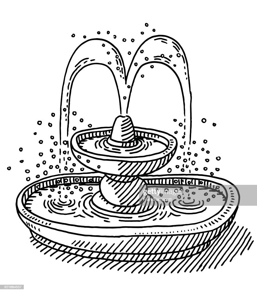 Water Fountain Drawing